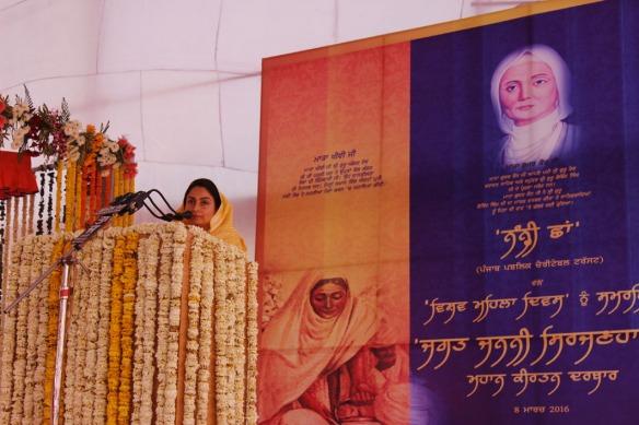 Keertan Smagam organized by Nanhi chhan - Harsimrat Kaur Badal (1).jpg