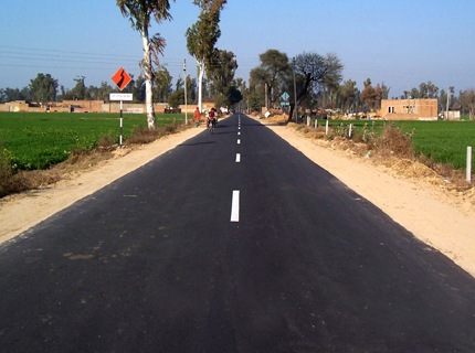Punjab government infuses development with rural link roads - Bikram Singh Majithia, Progressive Punjab, sukhbir singh badal, Developing Punjab, Punjab Government Development Projects